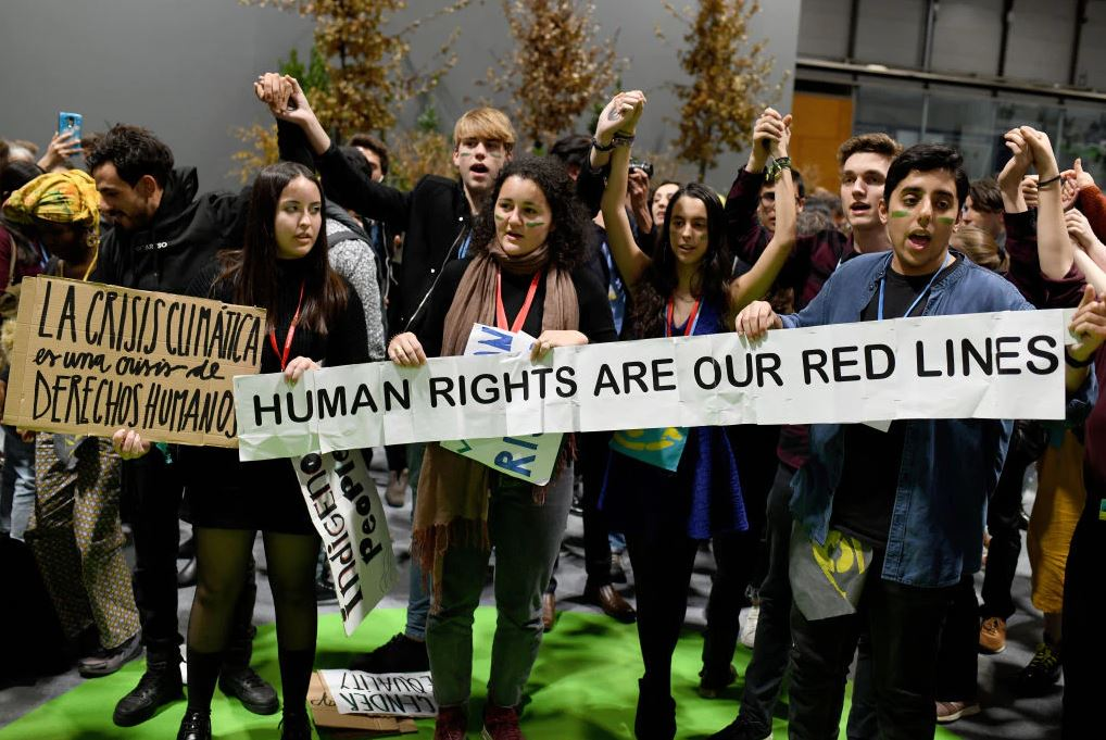 Unfavourable times for human rights at COP25