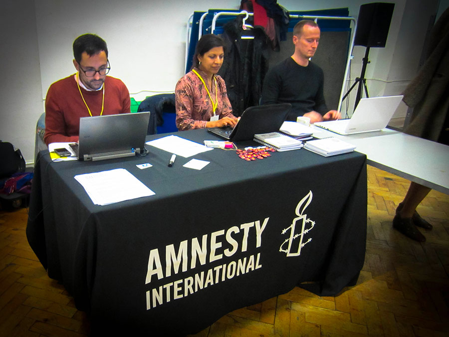 "Amnesty International IS – Global Workshop ""Training for Trainers on Sexual and Reproductive Rights"", London 2014"