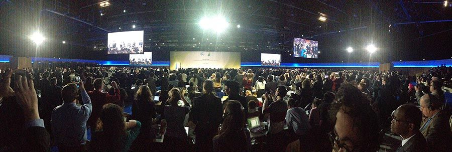 UNFCCC COP21 Paris Agreement Approval